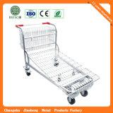 Trole do armazém do metal para transportar no supermercado (JS-TWT04)