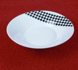 Dîner de la céramique vaisselle de table blanc de style européen