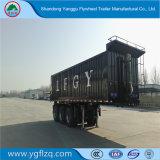 Vliegwiel 3 Semi Aanhangwagen van de Vrachtwagen van de Kipwagen van de As de Op zwaar werk berekende Achter met Cilinder Hyva voor Vervoer van het Zand/van de Steen/van de Steenkool