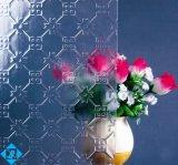 6 mm de vidro estampados figurado padrão de vidro vidro para Furiniture
