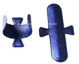 Touch-U de diseño de alas de cuero de PU+soporte de teléfono móvil de acero