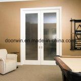 簡単な方法ホーム内部ドアの二重ガラス滑走の小型のドアの秘密のドア