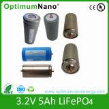 Batteria alta della batteria 3.2V 5ah LiFePO4 di tasso 32700 di scarico