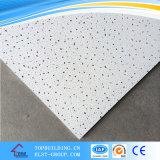 Junta de techo de fibra mineral de Sandy / techo de techo acústico