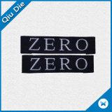 Het aangepaste Geweven Etiket van China van de Polyester van 100% Kleding