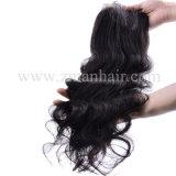 美しく大きい波13X4の大きい毛のToupee