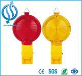 أصفر و [ورنينغ ليغت] أحمر لأنّ حركة مرور طريق