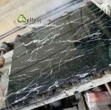 棒上のカウンタートップの台所上のテーブルの上のためのM501黒いMarquinaの大理石の平板