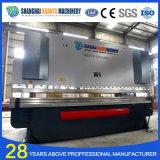 Máquina de dobra inoxidável hidráulica da placa de aço do CNC de Wc67y