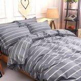 織物のMicrofiberホームポリエステルは寝具セットを印刷した