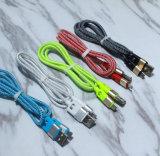TPE Matel нейлоновые пространства USB Кабельное для Android