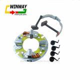 Supporto della spazzola di carbone del motociclo, Assy della spazzola, mensola Cg125/Qj125 della spazzola