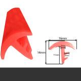 Sellado de caucho de silicona de aislamiento acústico/Perfil de extrusión para automóvil parabrisas