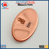 Distintivo rotondo del metallo della fabbrica dell'OEM del cliente su ordinazione della famiglia con il disegno libero