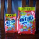 polvere calda del detersivo di lavanderia di colore di colore rosa di alta qualità di vendita 500g