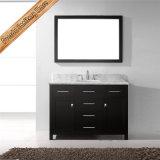 Cabinet de salle de bains de dessus de marbre de conception moderne