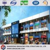 ISO bescheinigte die zwei Geschoss-Stahlkonstruktion-System-Gebäude