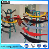 Sistema de suspensão semi reboque composto das Molas com Lâminas