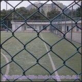 Загородка звена цепи защищает загородку/разделительную стену