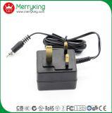 6-12W UK Plug Adaptateurs de courant linéaire