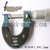 Ck-211 SmCo grau do magneto Φ 3*φ 1.8*1,5mm