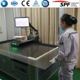 Стекло анти- отражательного утюга покрытия низкого солнечное для панели PV