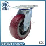 Roue à roulette industrielle pivotante en polyuréthane de 4 pouces