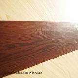 La vente chaude d'usine en bois sèchent le plancher arrière de vinyle