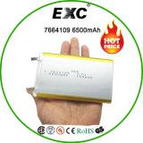 7664109 Bateria recarregável Li-Po Bateria de polímero 3.7V