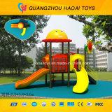 De uitstekende OpenluchtSpeelplaats van de Jonge geitjes van de Apparatuur van de Speelplaats van de Kwaliteit Openlucht Peuter (hoed-004)
