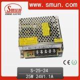 セリウムRoHS Approvedとの25W 24V 1A AC/DC Power Supply