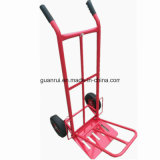 Pneumatic Wheel Hand Dirty Trolley Cart for