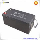 Cg12-200 12V 200Ah recargable, batería de gel de buen fabricante chino