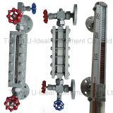 Indicatore di livello tubolare fluido a temperatura elevata di vetro di quarzo