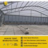 20X60m tenda trasparente di capienza dei 1000 ospiti per il partito di banchetto