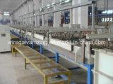 Máquina da galvanização do fio de aço eletro com o Ce certificado