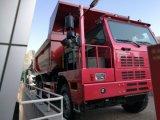 HOWO 6X4 тележка сброса минирование 60 тонн