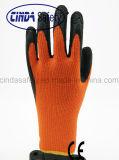 Латекс покрыл трудное защитное для перчаток безопасности пользы зимы