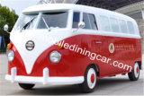 De gemakkelijke Vrachtwagen van het Voedsel van de Verrichting Elektrische Geschikte voor Verkoop