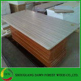 madera contrachapada laminada melamina de 18m m