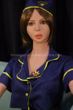 poupée sexy modèle réaliste de sexe de mannequin de mode de robot de sexe de jouet de sexe d'homme adulte de fille de 158cm