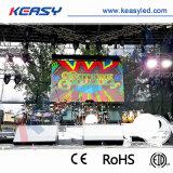 IP65 avant arrière P3.91 Publicité de plein air numérique du panneau Vidéo plein écran à affichage LED de location de couleur