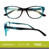 Fashion Acetate Optical Frame Lunettes Lunettes Spectacles