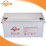 Bateria solar acidificada ao chumbo 12V150ah do ciclo profundo de Yinsun para a fonte de alimentação