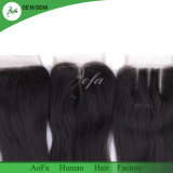 Норки волосы, Индийского Реми волосы кусочки кружева закрытия