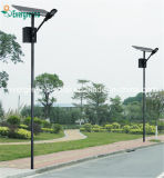 Separados de ahorro de energía Solar Panel Solar de la luz de la calle