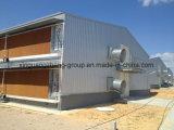 Camera di griglia Two-Storey prefabbricata del pollo della struttura d'acciaio