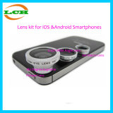 3 в 1 Clip-on объективе Fisheye 180 градусов высшем, 0.67X широкоформатный объектив, Macro объектив 10X для &Android Smartphones Ios