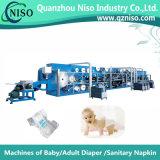 高速半サーボ赤ん坊のおむつのパッド機械(YNK400-HSV)