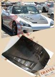 Capot en caoutchouc auto en fibre de carbone